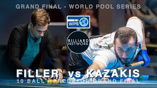 FOCUS vs SKILL! - Joshua FILLER vs Alex KAZAKIS | PREDATOR GRAND FINAL - WORLD POOL SERIES | 10 Ball