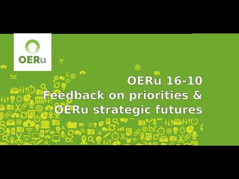 OERu 2016-10 Strategic futures
