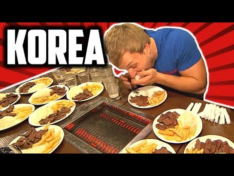 Furious World Tour | Seoul, Korea - Street Food, KOREAN BBQ Challenge, FIRE Noodles & LIVE Seafood!