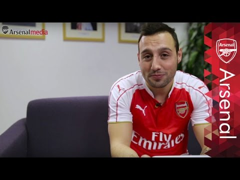 brand new cbe00 9d851 Santi Cazorla: 'Messi, Pires and Zidane make my ultimate 5-a-side team'