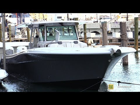 2019 HCB 53 Suenos Center Console Fishing Boat - Walkthrough - 2019 Miami Yacht Show