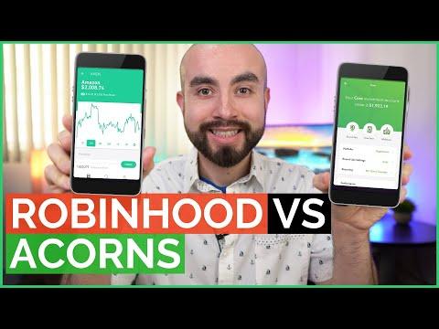 Acorns vs Robinhood App - Battle of Stock Market Apps For Beginners