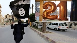 Birthday Balloons In Sweden Confused For ISIS Propaganda