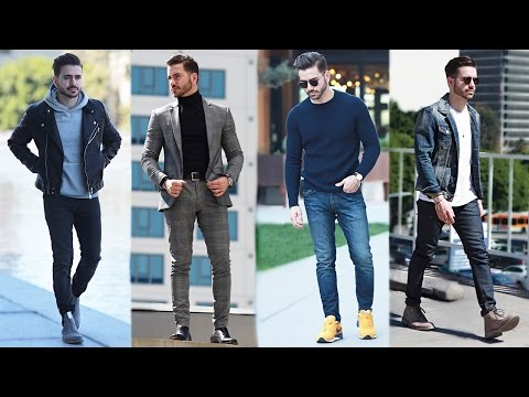 MEN'S OUTFIT INSPIRATION | MEN'S FASHION LOOKBOOK 2017 | 4 EASY OUTFITS | ALEX COSTA