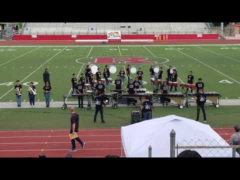 Rio Grande City High School Percussion- Drumline Competition 2018