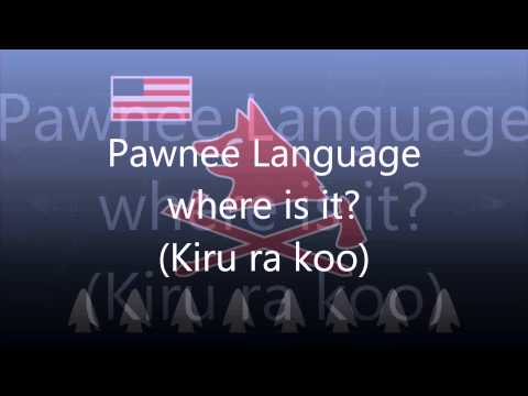 Pawnee Language (Tom E Knife Chief) - Where is it?