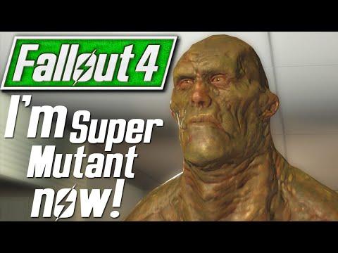Fallout 4 Playable Super Mutant Mod - Strong Wanderer