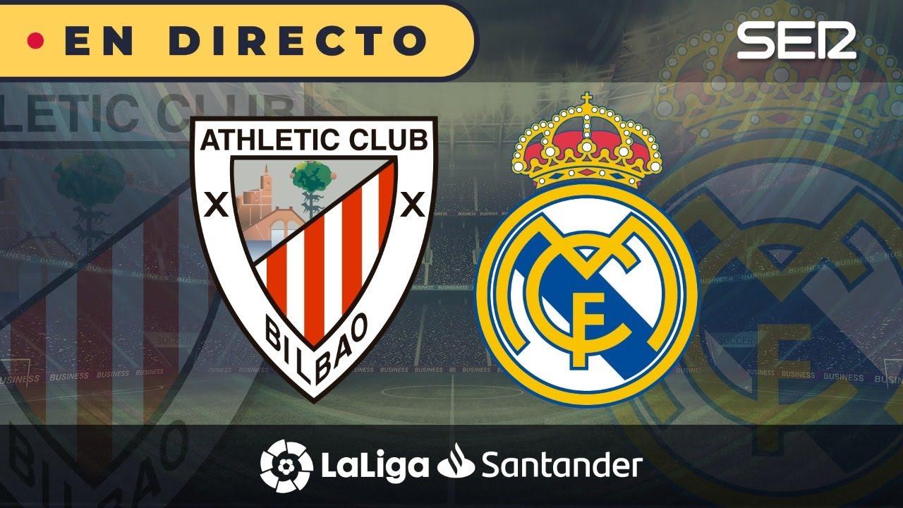 Athletic 0 - 1 Real Madrid (La Liga en vivo)