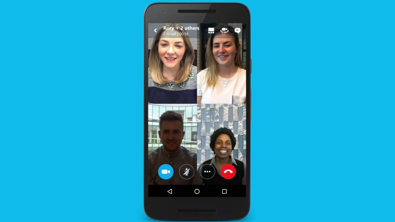 skype messenger video call free download