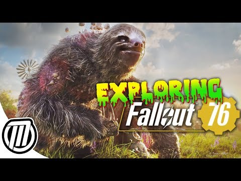 Fallout 76: Exploring the Deadly Open-World! - BETA Gameplay