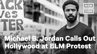 Zien: Michael B. Jordan eist meer werk voor zwarte Amerikanen in Hollywood