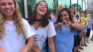Alpha Xi Delta CBU Recruitment Video 2017