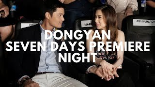 Dongyan Dingdong Dantes & Marian Rivera at the Seven Sundays Premiere Night Cristine Reyes