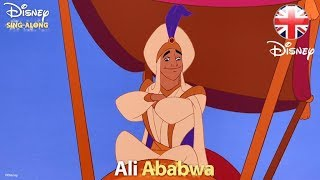 DISNEY SING-ALONGS | Prince Ali - Aladdin Lyric Video | Official Disney UK