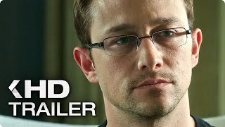 Snowden ALL Trailer & Clips (2016)