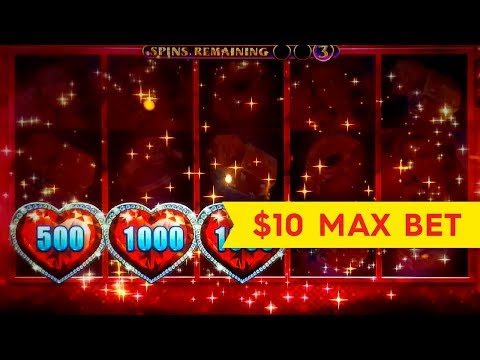 Lock It Link Diamonds Slot - $10 Bet - FIRST SPIN BONUS, YES!!!