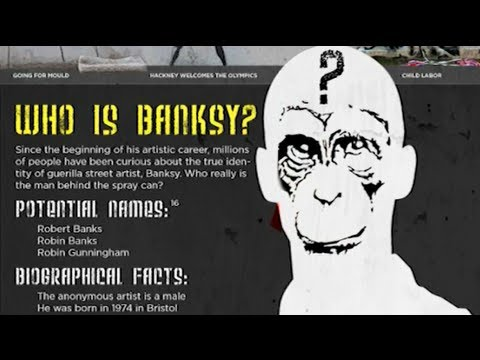 History of BANKSY Graffiti Art ᴴᴰ