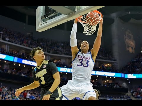 Purdue vs. Kansas: Jayhawks rock the rim!