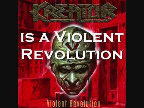 Kreator - Violent Revolution with lyrics