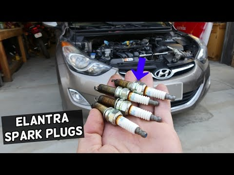 How To Change Spark Plugs Hyundai Accent 01 05 Doovi
