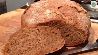 No Knead Rye Bread - How To Make Homemade Rye Bread