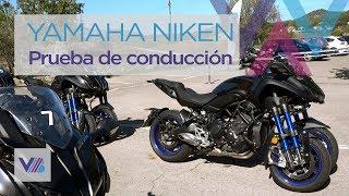 ¡Probamos la Yamaha Niken! Una moto deportiva con 3 ruedas