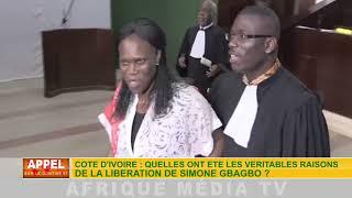 CÔTE D'IVOIRE : QUELLES ONT ÉTÉ LES VÉRITABLES RAISONS DE LA LIBÉRATION DE SIMONE GBAGBO ?
