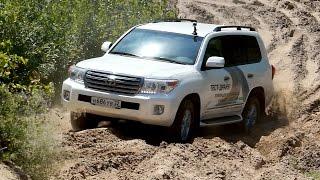 Toyota Land Cruiser 200 / в песках / Тест-Драйв Александра Михельсона