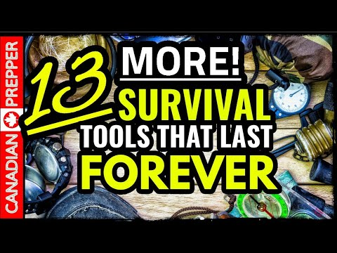 13 More Survival Gear Items That Last Forever!