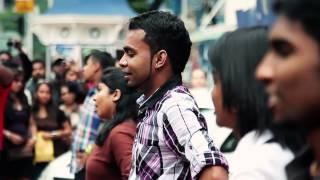 Why This Kolaveri Di MALAYSIA Flash Mob Official Video HD 2012