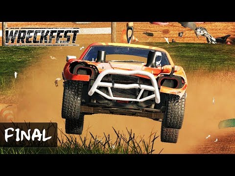 Wreckfest WORLD MASTERS Series FINAL Onboard [4K] - Bloomfield Speedway