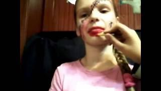 Аквагрим на Хэллоуин видеоурок от Кристины!