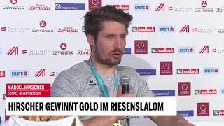 Hirscher gewinnt Gold im Riesenslalom