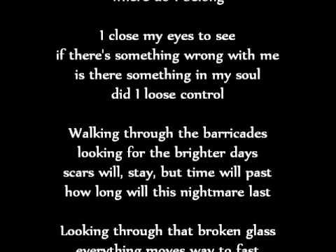 Demi Goddess - Where do I belong lyrics