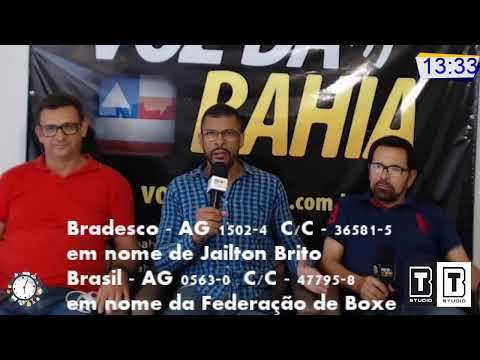Meio-Dia e Meia Live hoje Empresários Roque Sampaio e Clóvis Machado