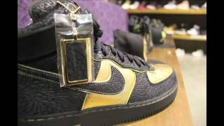 a release party event for the nike af1 x nitro microphone undergrou...