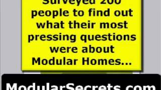 Modular Homes: The 4 biggest mistakes...
