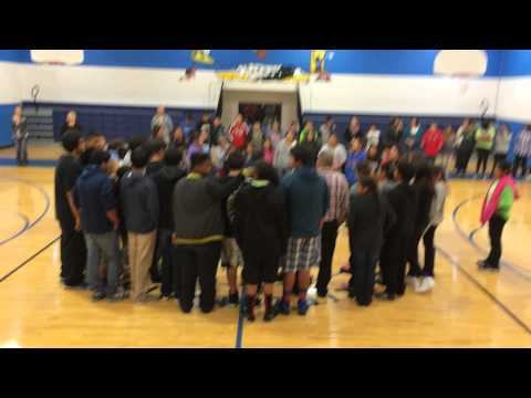 Circle of Nations School Drum Group & Wicagz... 2014