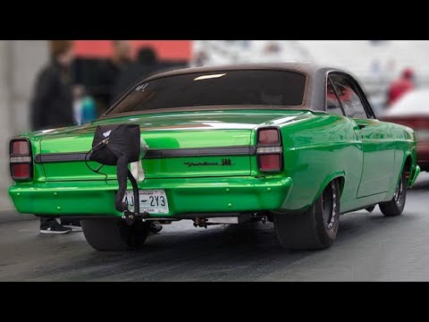 Coyote Powered Fairlane Is A Twin Turbo BEAST!