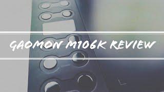 Gaomon M106K Tablet | Unboxing & Review