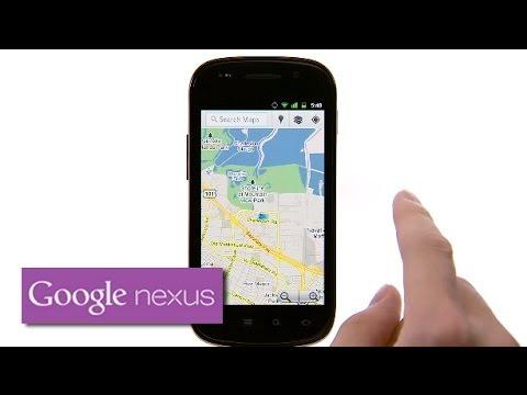 Explore Nexus S: Google Maps