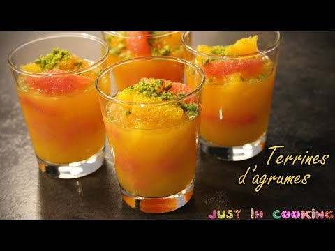 recette-de-terrines-d'agrumes,-miel-et-fleur-d'oranger