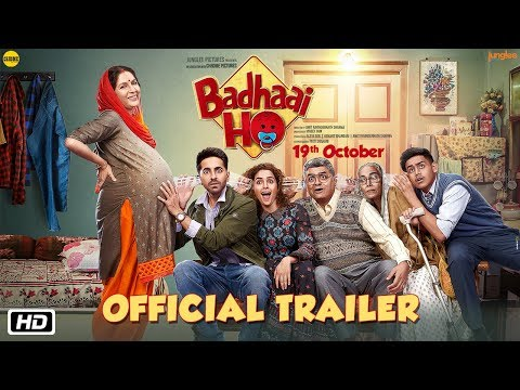 'Badhaai Ho' Official Trailer | Ayushmann Khurrana, Sanya Malhotra | Director Amit Sharma | 19th Oct