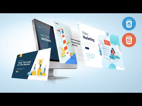 Build An HTML 5 Responsive Layout - Service Section Complete Tutorial