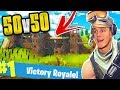 THE BIGGEST BASE EVER 50v50 FORTNITE BATTLE ROYALE mp3