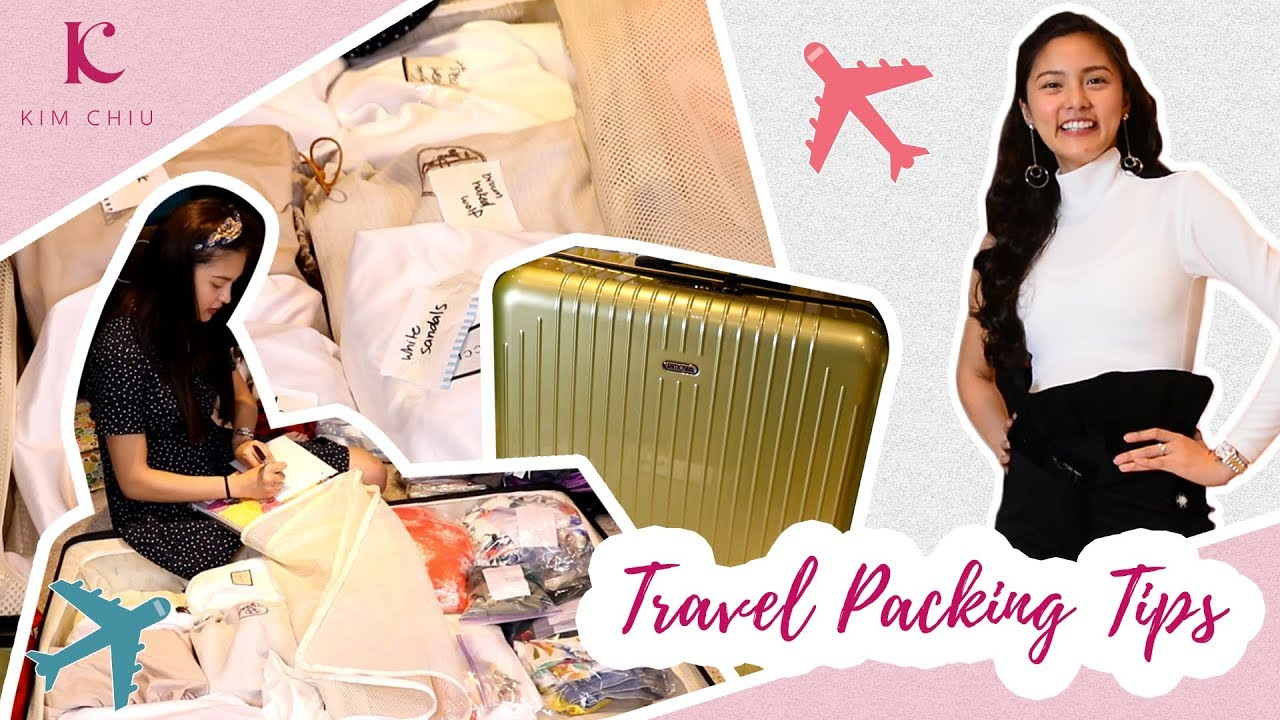 What I brought to Hawaii + My Travel Packing Tips (How to Travel Light) | Kim Chiu PH