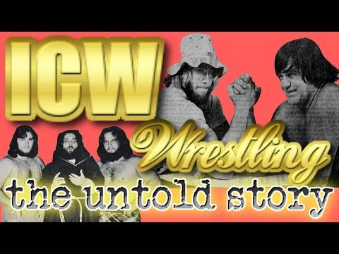 ICW Wrestling Angelo Poffo | The Untold Story |  Wrestling Territories Documentary 9/50