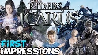 "Riders Of Icarus MMORPG First Impressions ""Is It Worth Playing?"""