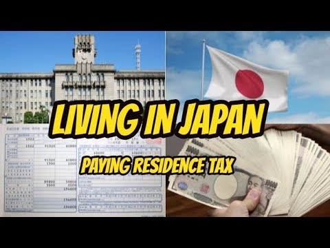 LIVING IN JAPAN - Paying tax at city hall