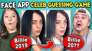 What Happened To Billie Eilish? | Celeb Face App Challenge